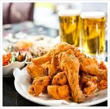 Пържено пилешко с бира